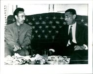 Abdel Hakim Amer and Houari Boumedienne