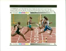 Linford Christie versus Ben Johnson.