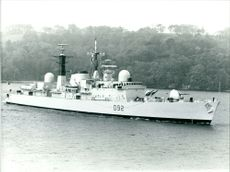 HMS Liverpool, destroyer of the royal navy.