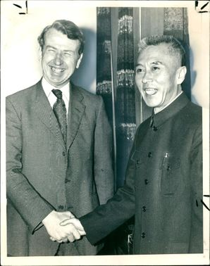 Peter Walker:welcoming Pai Hsiang Kou