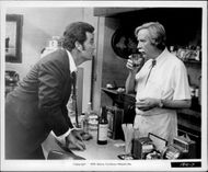 "James Garner and Arthur O'Connell in the movie ""They Only Kill Their Masters"""