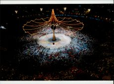 The final ceremony at the 1992 Winter Olympics in Albertville 1992