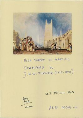 Turner's High street st. martins stamford.
