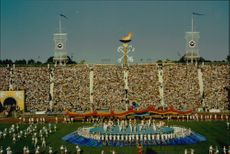 Goodwill Games in Saint Petersburg. The opening ceremony