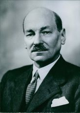 Portrait of Earl Attlee.