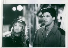 Alec Baldwin and Meg Ryan in a scene from the film Prelude to a Kiss, 1991.