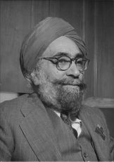 Mr. Sarda Blawant Bahadur Singh Puri, Secretary General of the Indian Red Cross
