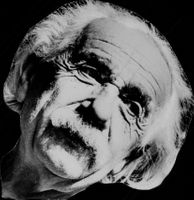 Portrait image of Albert Einstein taken in an unknown context.