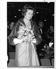 Princess Alexandra at a recent first-night at Festival Hall, London.