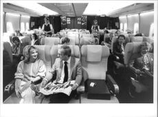 Passenger comfort has improved significantly in Lufthansa Boeing 747.