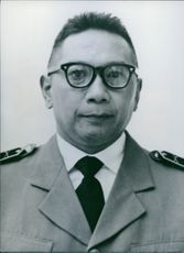 Portrait of Colonel Suprajogi, 1960.