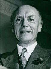 Portrait of Frank Taylor a British Industrialists