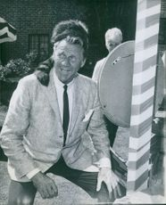 A photo of an American stage, film actor Sonny Tufts.