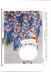 The great britain 1992 Winter Olympics.