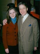 Edward Fox and his daughter Emilia