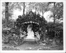 Ave Maria Grotto at St. Bernard.