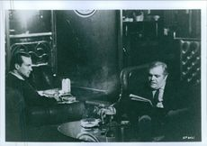 William Hurt and Brian Dennehy in the film Gorky Park, 1983.