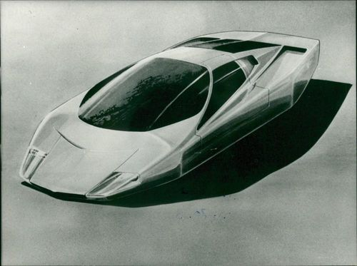 Motor car marcedes:Style of the future.