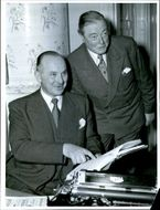 Charles Birchall and AC Hardy, shipbuilding experts