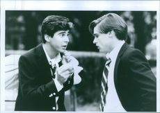 Jonathan Silverman and William Mcnamara from movie Stealing Home(1988).