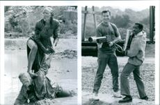 """A scene from the film """" Undercover Blues"""" 1993"""
