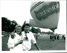 Tracey Childs with Tony Anholt.