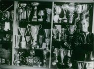 Karl Schranz standing beside his awards  Karl Schranz (born 18 November 1938) is a former champion alpine ski racer from Austria, one of the best of the 1960s and early 1970s.