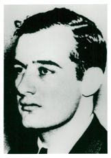 Portrait picture of diplomat Raoul Wallenberg taken in an unknown context.