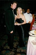 David Hasselhoff with Mrs Pamela Bach at the Emmy Awards
