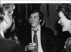 Hamilton Jordan at the White House reception in Washington, 1978.