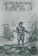 Maritime Museum: The cover page of Johar Månsson's