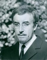 Portrait of Peter Sellers.