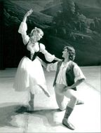 Antony Harith and Victoria Westall, pictured at Theater.
