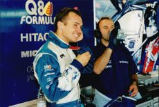 It was idle smile from Rickard Rydell and his team in the depot of Brands Hatch.
