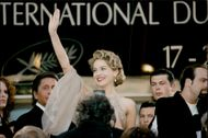Sharon Stone during the 48th Cannes Film Festival