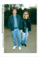 "David E. Kelley and Michelle Pfeiffer at Escada Sports Charity ""Children At Play"""