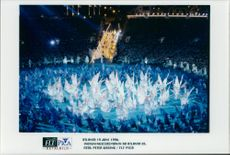 The opening ceremony of the OS in Atlanta 1996