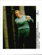 Golf player Colin Montgomerie during the Ryder Cup in 1995