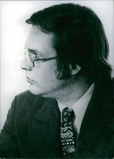 Portrait of U.S. government official Winston Lord, 1973.