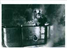 Kenneth Branagh in a scene from Mary Shelley's Frankenstein in 1994.