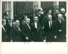 Harold Wilson with william stewart and williams rogers.