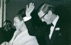 Princess Margriet of the Netherlands and her husband Pieter van Vollenhoven.