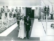 Princess Margriet and Pieter van Vollenhoven.
