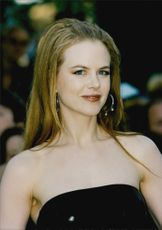 Portrait image of actress Nicole Kidman.