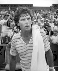 Paul McNamee during Davis Cup 1981