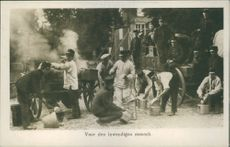 Remembrance of the mobilization in 1914.