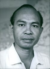 Portrait of Sarawak politician Steven Ningkan, 1962.