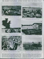 The Kharkov Battlefield: Action Pictures from Russian Front. 1942
