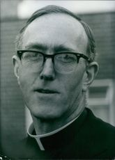 Irish church leader Rt. Rev. Dermot Ryan, 1972.