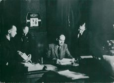 Portrait image of Raoul Wallenberg taken in an unknown context in Hungary.